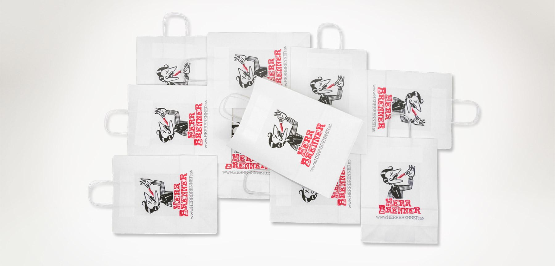 papiertaschen slider broconpack - Produits
