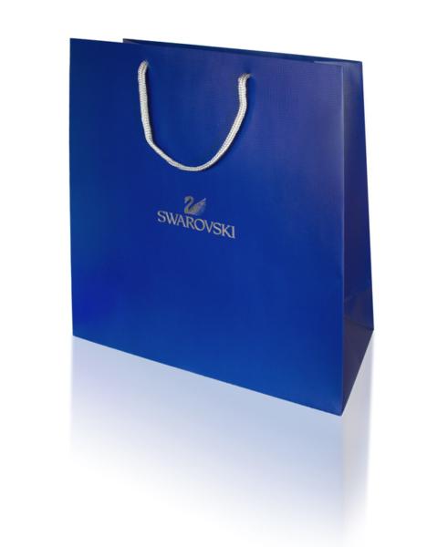 swarovski gift paper bag 468x600 - Carrier bags